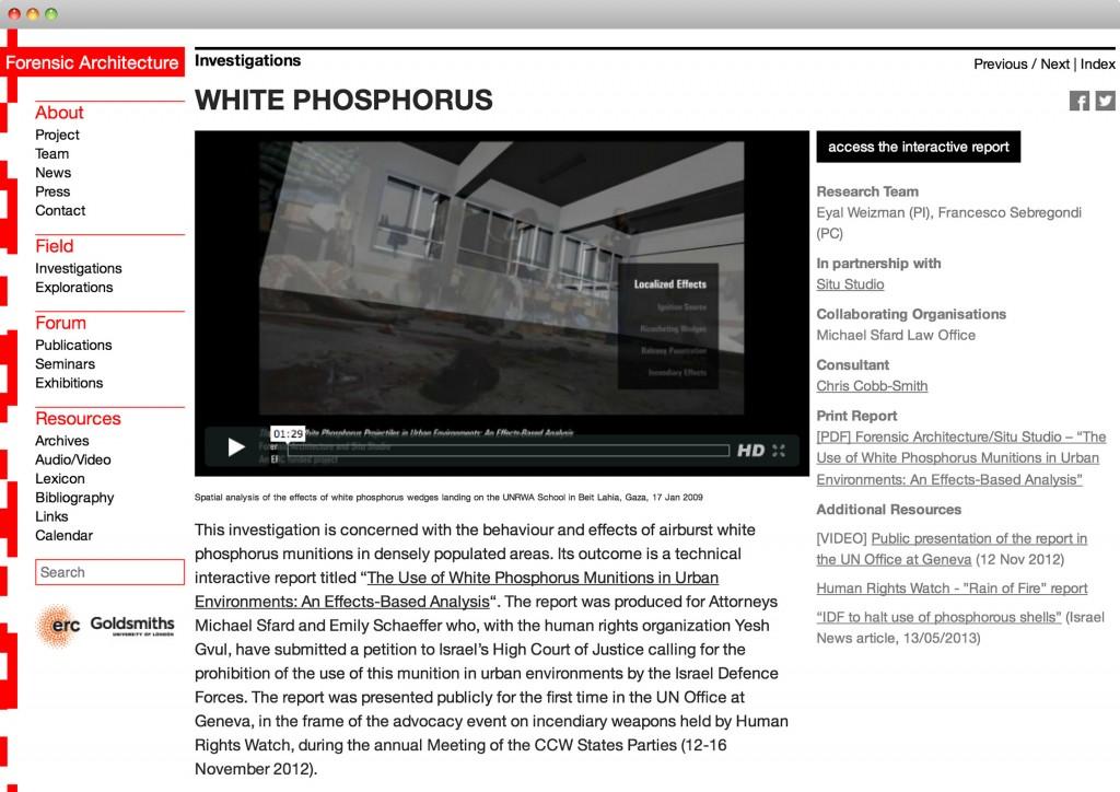 White-phosphorus